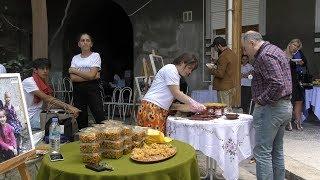 კავკასიურმა სახლმა პანკისელ ახალგაზრდებს უმასპინძლა