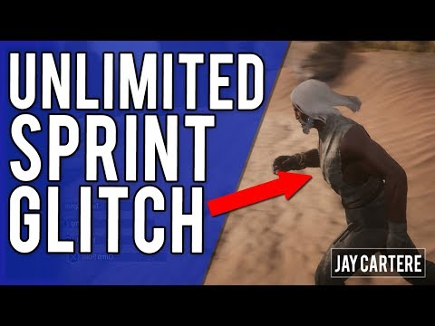 Conan Exiles PS4 PVP Tutorial - How To Use Unlimited Sprint Glitch - Unlimited Stamina/Run