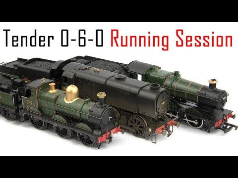 A Day with 0-6-0 Tender Engines