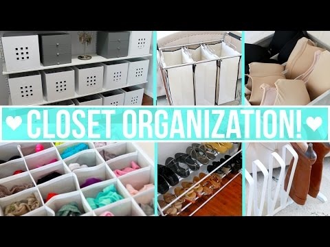 Closet Organization Ideas!