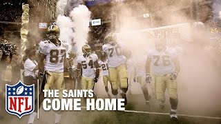 2006 Saints Surprise the Falcons in Reopening of Superdome Post Katrina | #ThrowbackThursday | NFL