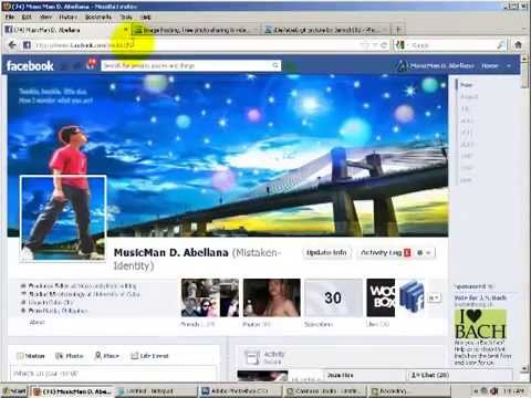 How to:Create gif image on A/Photoshop and Insert animated photo's on facebook chatbox.