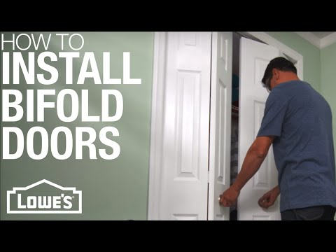 How To Install Bifold Doors