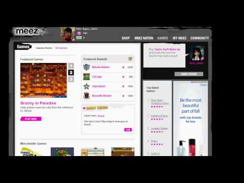 Meez How To Get Free Coinz *EASY!*