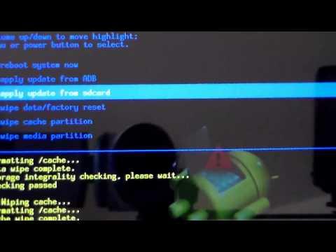 How to install custom ROM on Ainol Tablet