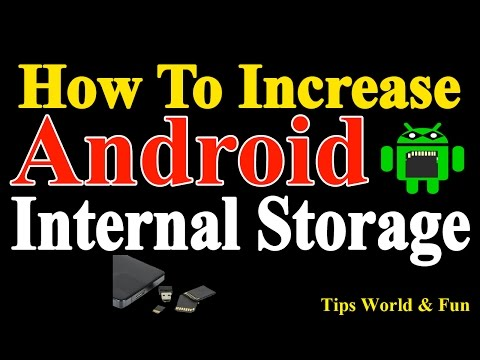 How to Increase internal Storage On Andriod Mobile without Root | How to increase Internal Storage.