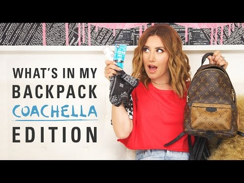 What's in my backpack? Coachella Edition | Ashley Tisdale