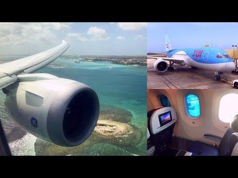 Shortest Boeing 787 Flight: 74 miles Curacao - Aruba with TUI in Premium Comfort