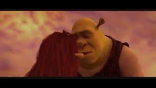 Fiona Kisses Shrek - Shrek Forever After