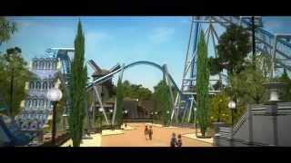 RCT3 - New Western Bridge (car trip) - PakVim net HD Vdieos Portal
