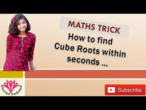 How to find cube root easily|cube root|find cube roots quickly|calculate cube roots | Jovial Talent