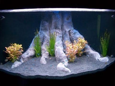 HOW TO: DIY Aquarium Background