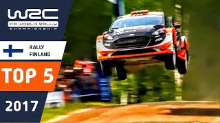 WRC - Neste Rally Finland 2017: Top 5 Highlights