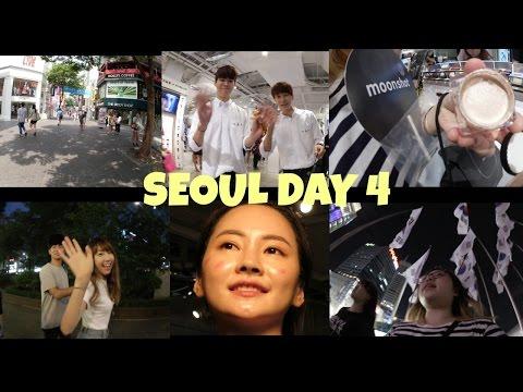 Korea Seoul Trip day 4 Myeongdong, Moonshot & Dongdaemun