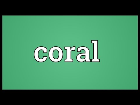 Coral Meaning