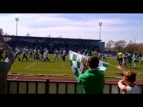 Guernsey FC promotion walk