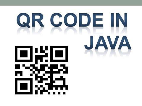 11.4 QR(Quick Response) Code Generation in Java using API