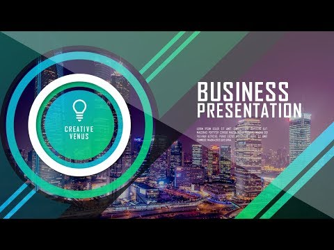 How To Design Super Creative Professional Business Presentation in Microsoft Office365 PowerPoint