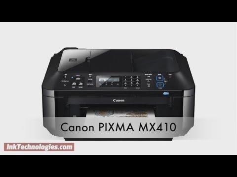 Canon PIXMA MX410 Instructional Video