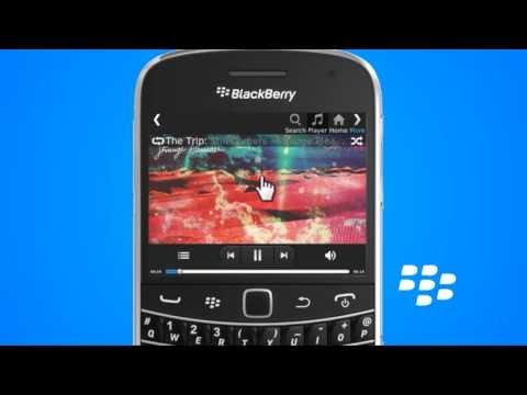 How to create a playlist from an existing album on a blackberry handset