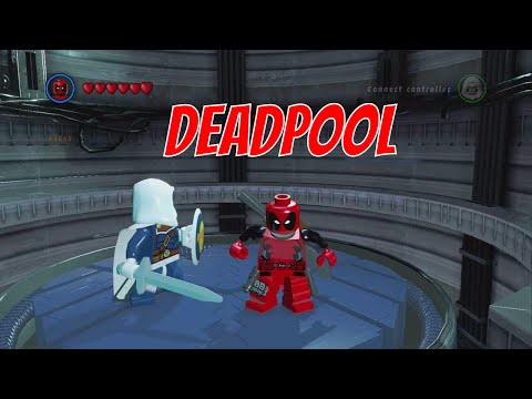 LEGO Marvel Superheroes - Deadpool Gameplay and Unlock Location