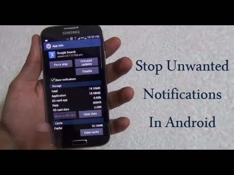 Stop Unwanted Notifications On any Android Phone