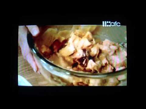 Fresh w/ Anna Olson - Peanut Butter & Jam Bread Pudding