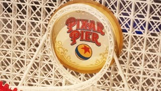 Pixar Pier preview center FULL TOUR in Blue Sky Cellar during Pixar Fest at Disneyland Resort
