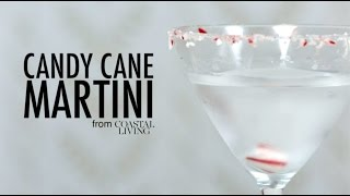 With a garnish of crushed peppermints and the fun flavors of vanilla vodka, white crème de cacao, and peppermint schnapps, this holiday cocktail is a winner.