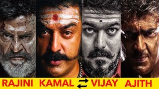 This is why Ajith and vijay cant replace Rajinikanth and Kamal Hassan !