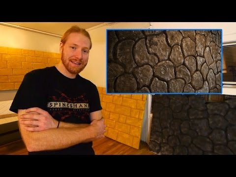 Nerd it Up - How to build castle walls out of styrofoam