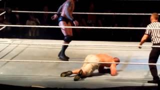 Randy Orton Low Blows John Cena in Toronto!