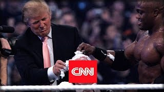 AFTER CNN ATTACKED PRIVATE CITIZEN OVER JOKE TRUMP WRESTLING VIDEO THEY IMMEDIATELY REGRETTED IT
