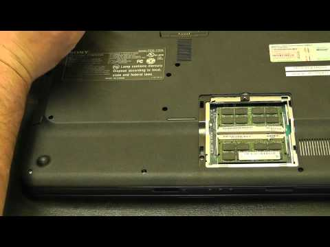 Sony VAIO PCG-715PX Hard Drive Replacement by TimsComputerFix.net VGN-NS295J