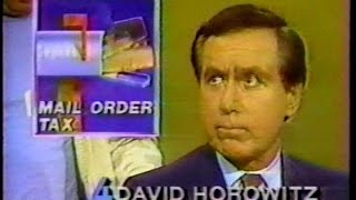Intruder with a gun puts KNBC off Air - KNBC TV (Channel 4 Los Angeles) 08/20/1987