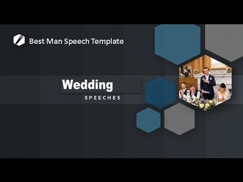 Best Man Speech Template