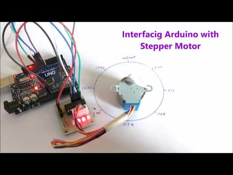 Stepper Motor Interfacing with Arduino