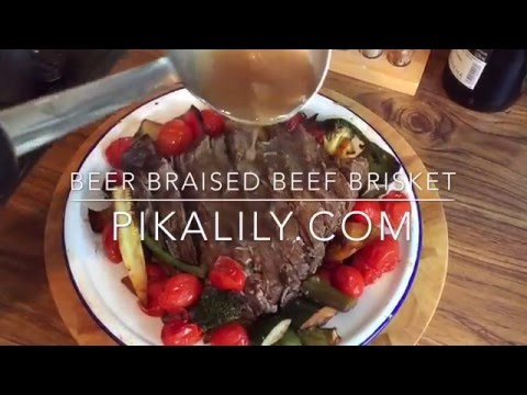 Slow Cooker Beer Beef Brisket Recipe