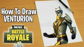 How To Draw Venturion From Fortnite Battle Royale