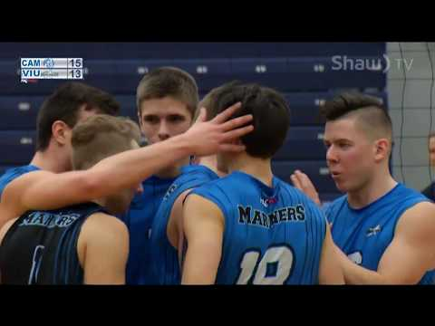 VIU Mariners vs. Camosun Chargers - PacWest Men's Volleyball - Feb. 16th, 2018