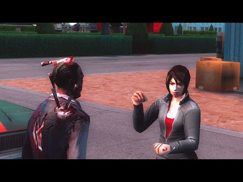 Gangstar Vegas - Zombie Protects Karen (Bad Day Mission)