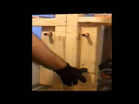 Shower mixer: How to plumb in hot/cold water to a shower mixer in a stud wall. Part 1
