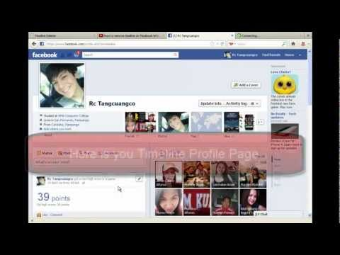 How to remove Facebook Timeline 2012