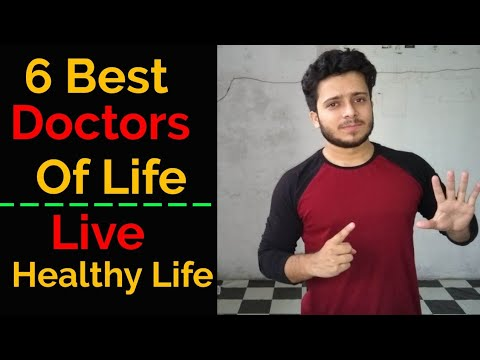 6 Best Doctors of Our Life   How to Live Healthy Life Hindi   Mohd Tabish  Skyking Health