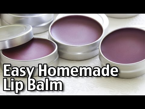 Easy Homemade Lip Balm!