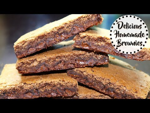 Delicious Homemade Brownies