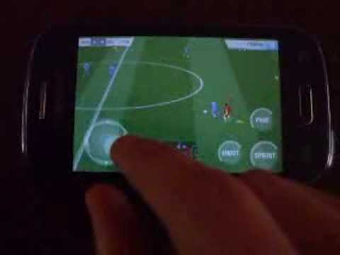 Real Football 2013 (RF 13) on Samsung Galaxy Young (S6310)