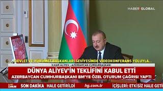 Dünya İlham Aliyev'in Teklifini Kabul Etti