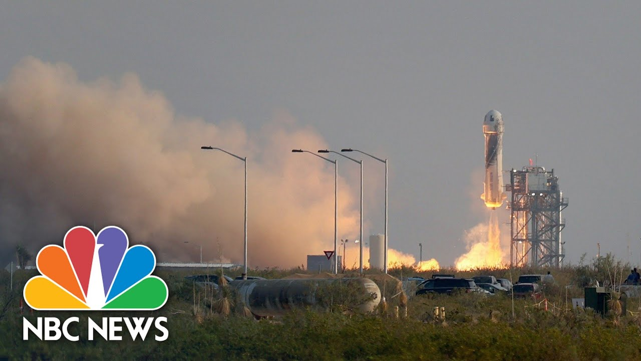 Watch Full Blue Origin Flight From Liftoff To Touchdown