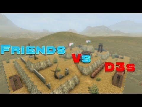 Tanki Online - Friends vs D3s